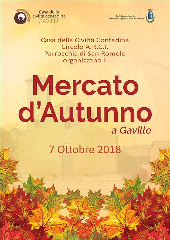 Mercato d'autunno 2018 a Gaville