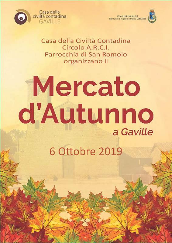 Mercato d'autunno 2019 a Gaville