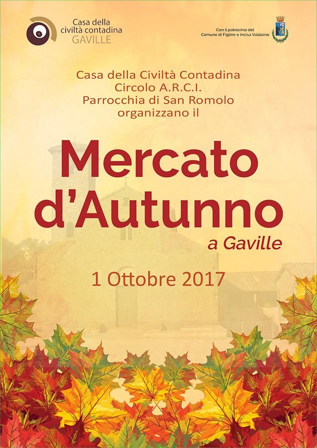 Mercato d'autunno a Gaville