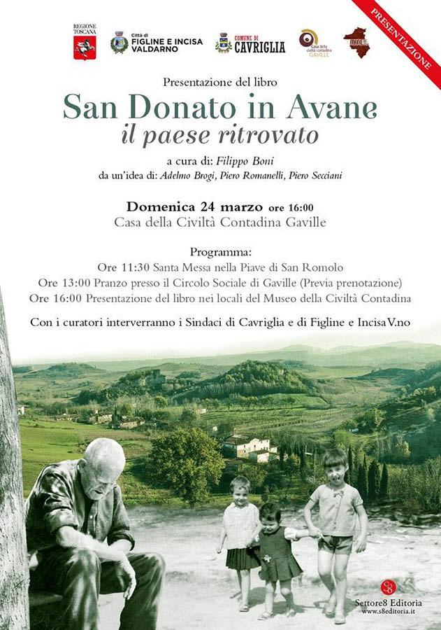 Presentazione libro: San Donato in Avane il paese ritrovato