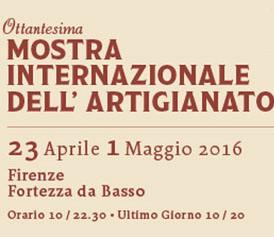 L'associazione partecipa alla Mostra dell'Artigianato - 23 Aprile 1 Maggio