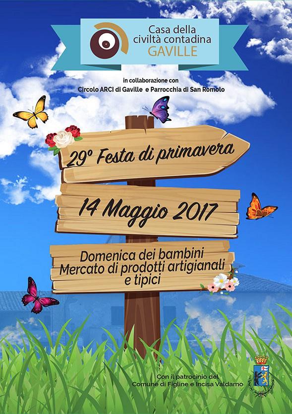 29° Festa di Primavera a Gaville - 14 Maggio