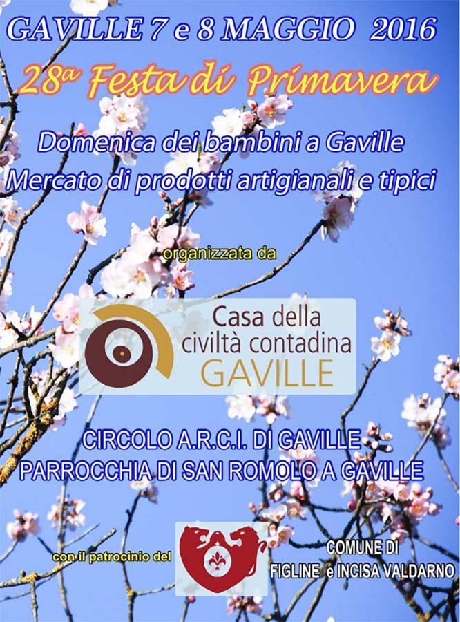 Festa di Primavera a Gaville - 7/8 Maggio 2016